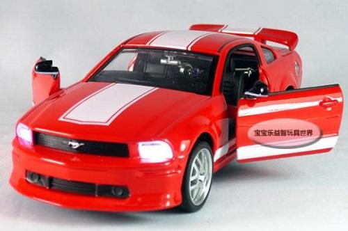 โมเดลรถเหล็ก โมเดลรถยนต์ Ford Mustang GT 5