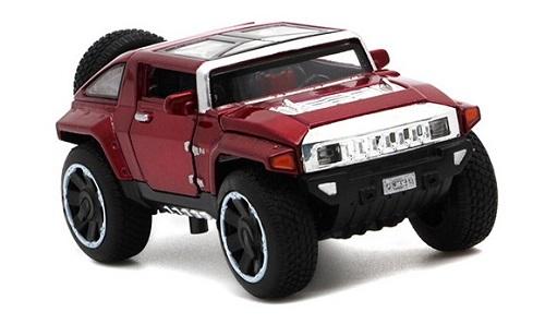 โมเดลรถเหล็ก โมเดลรถยนต์ Hummer hx 2