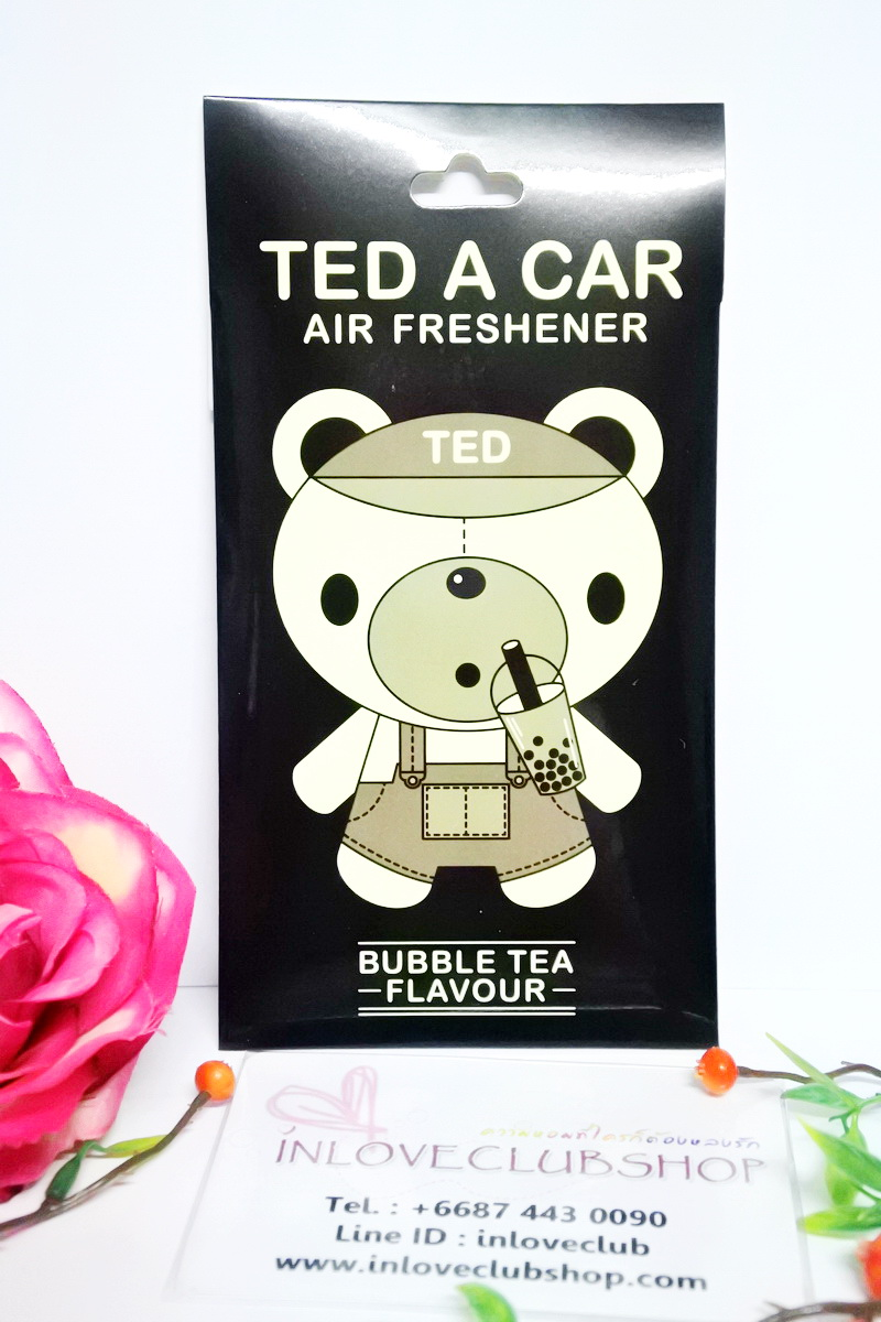 Ted A Car / Air Freshener (Bubble Tea)