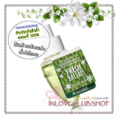 Bath & Body Works / Wallflowers Fragrance Refill 24 ml. (Fresh Balsam)