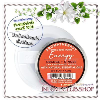 Bath & Body Works - Slatkin & Co / Scentportable Refill 6 ml. (Energy - Orange & Ginger)