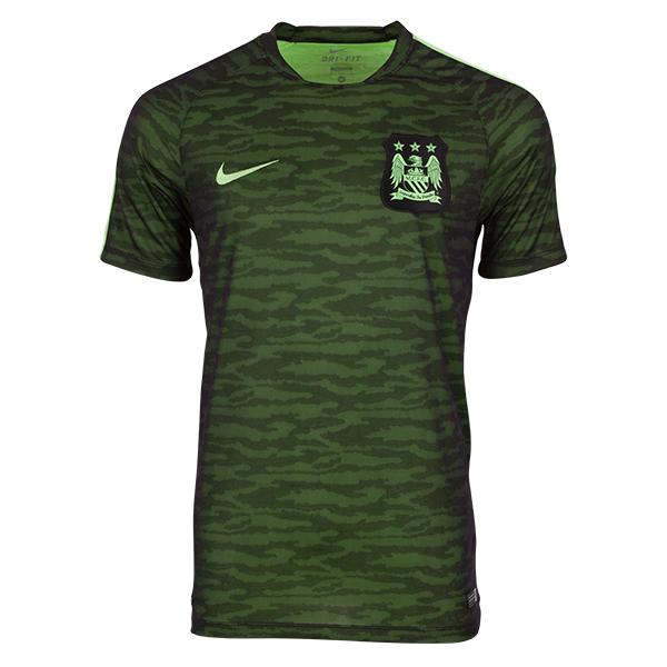 เสื้อแมนเชสเตอร์ ซิตี้ของแท้ Manchester City Flash Training Top - Black