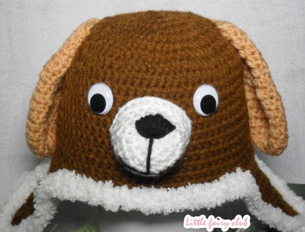 หมวกปิดหูการ์ตูนน้องหมา