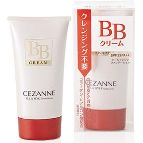 CEZANNE BB Cream ALL IN ONE Foundation # No.01 Light Ochre เหมาะสำหรับผิวขาว