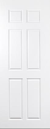 ประตู UPVC รุ่น v-series บานลูกฟัก PN003 ขนาด 80X200
