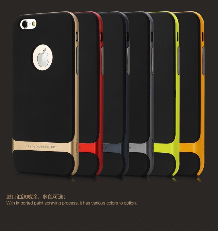 เคสครอบหลัง Apple iPhone 6 Plus / 6s Plus รุ่น Rock Series