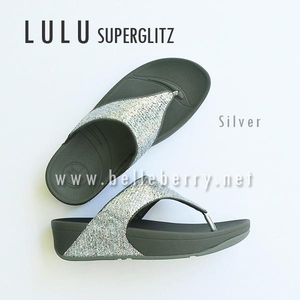**พร้อมส่ง** FitFlop LULU Superglitz : Silver : Size US 5 / EU 36
