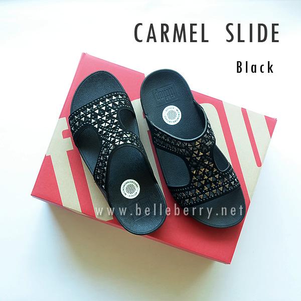 **พร้อมส่ง** FitFlop : CARMEL Slide : Black : Size US 5 / EU 36