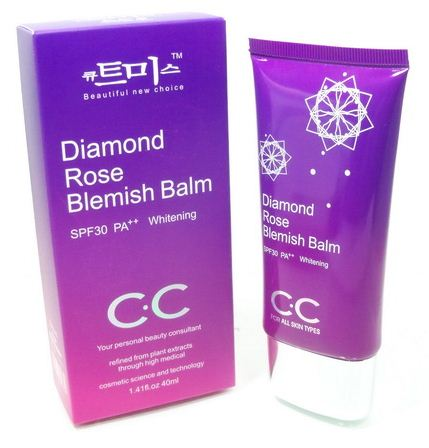 ฮอต บิวตี้ Diamond Rose Blemish Balm C.C Cream SPF35 PA+++
