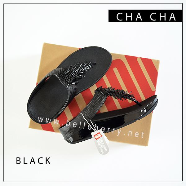 FitFlop Cha Cha : Black : Size US 9 / EU 41