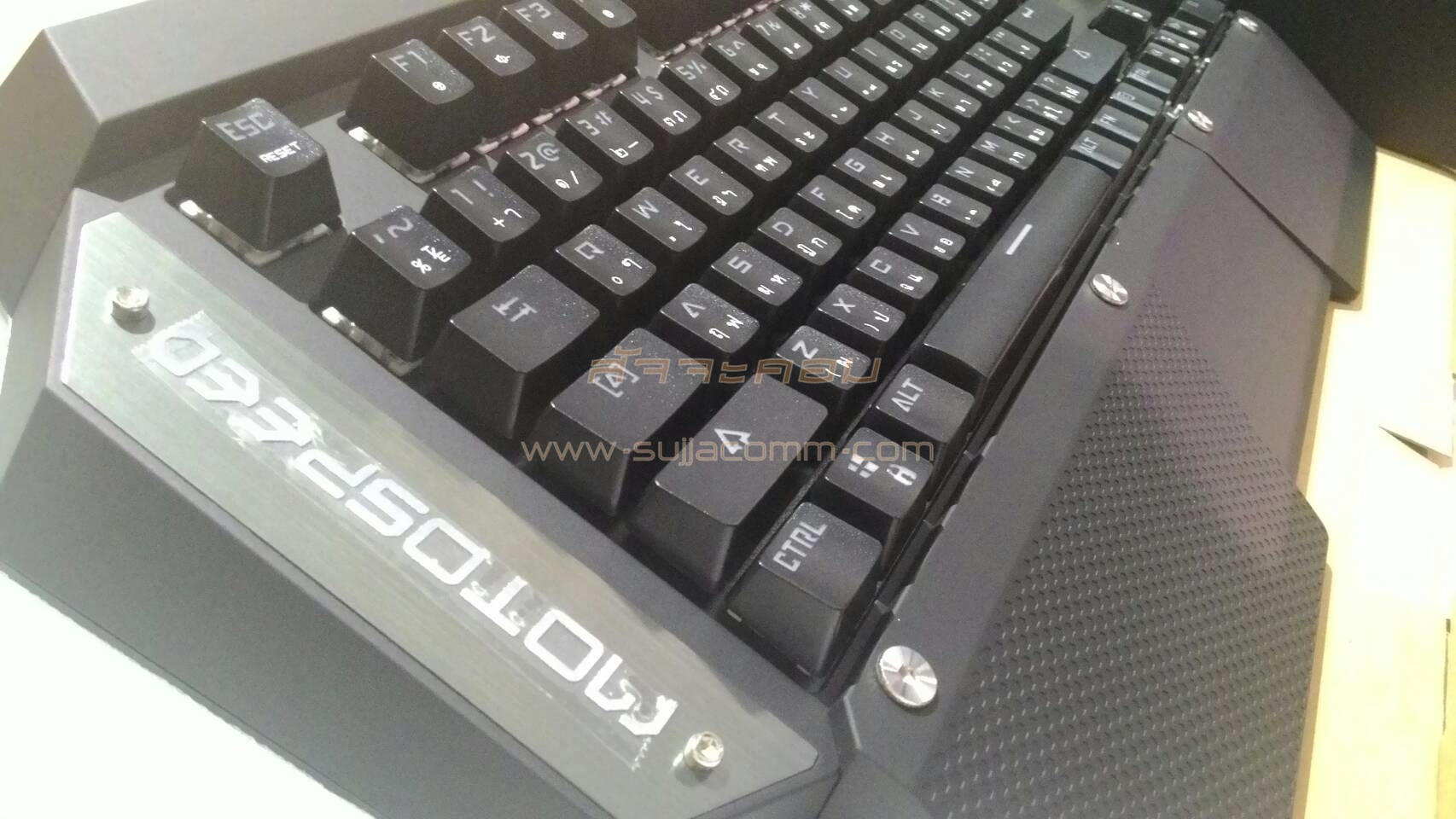 "USB Multi Keyboard ""MOTOSPEED"" (K88) Black (Blue Switch Mechanical Gaming Keyboard)"