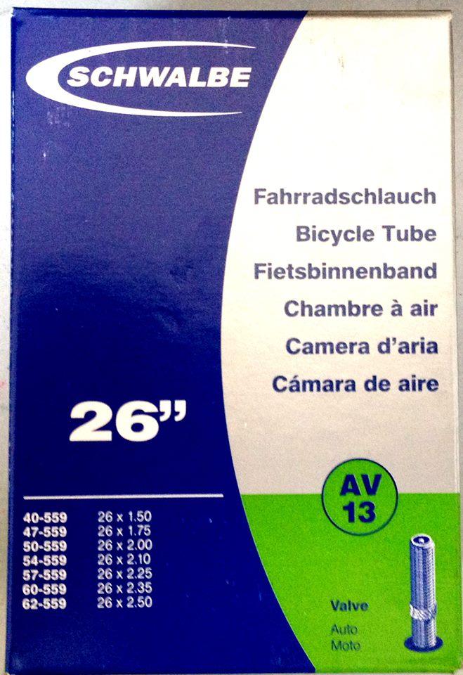 "Schwalbe 26""x1.5-2.5 AV13 จุ๊บใหญ่"
