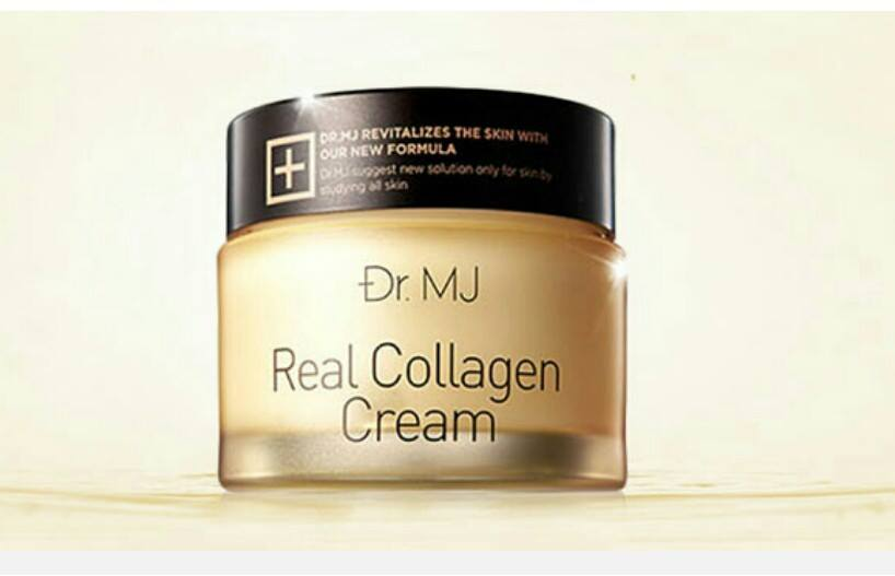 Dr.MJ Real Collagen Cream 50g ครีมบำรุงผิวสูตรคอลลาเจนเข้มข้น