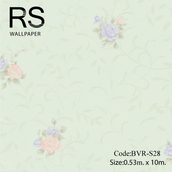 วอลเปเปอร์ลายดอกไม้ BVR-S28
