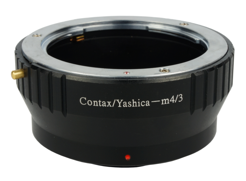 CY-M4/3 CY-MFT Lens Mount Adapter Contax Yashica Mount Lens to Olympus Panasonic Micro Four Third Camera