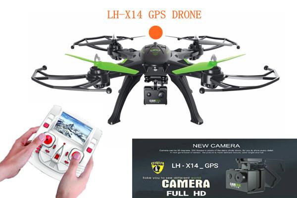 LH-X14_GPS FPV 5.8 gz+ระบบดาวเทียม+บินอยู่กับที่+หน้าจอ