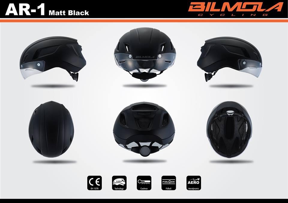 BILMOLA : AR-1 หมวกกันน๊อกเสือหมอบทรงแอโร่