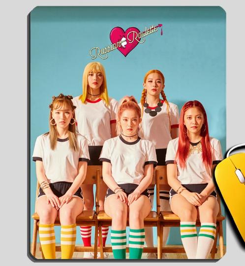 แผ่นรองเม้าส์ Red Velvet