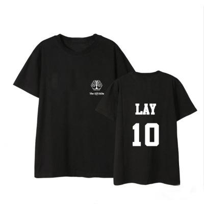 """เสื้อยืด EXO Planet #4 – """"The EℓyXiOn"""" - LAY"""