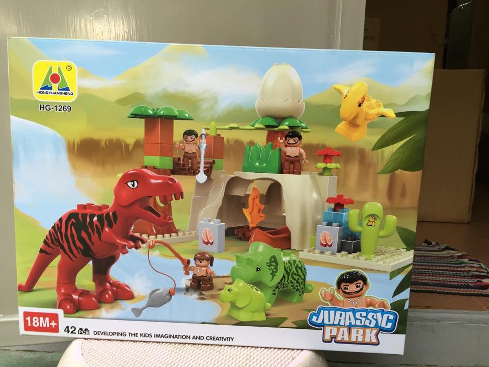ตัวต่อคุณภาพดีขนาดตัวต่อเล่นกับเลโก้ดูโปรได้เลย