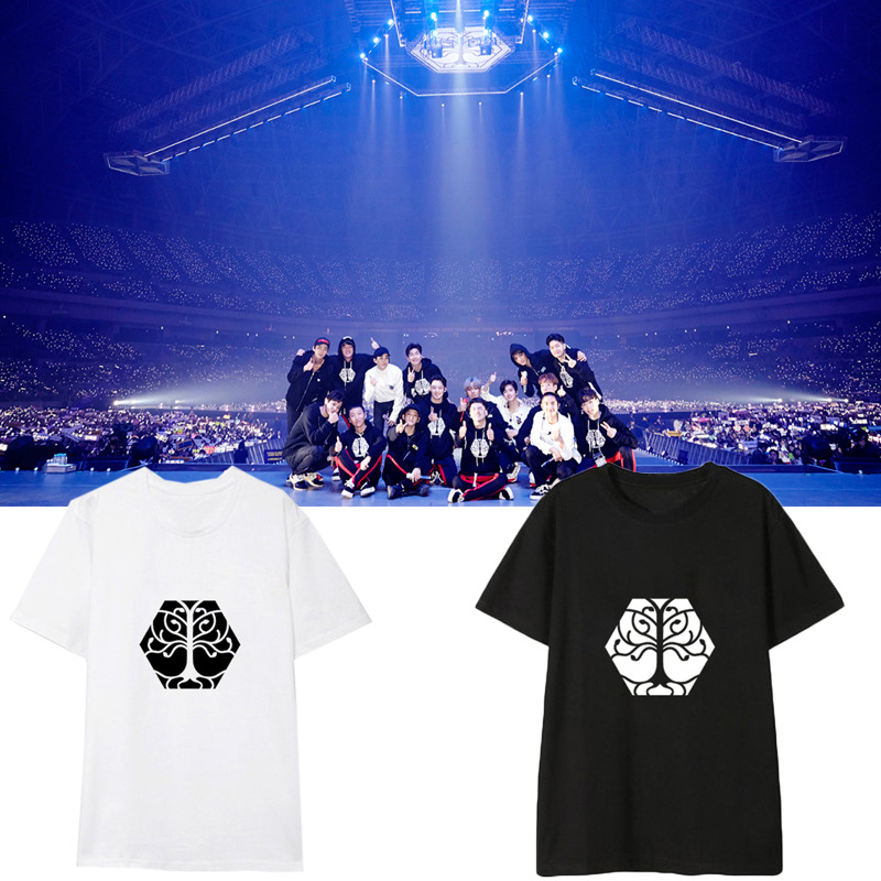 """เสื้อยืด EXO Planet #4 – """"The EℓyXiOn"""" เลือกสีได้"""