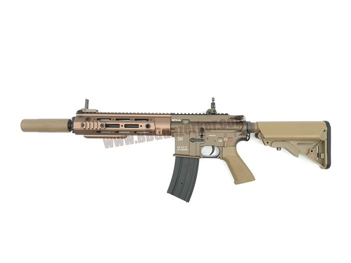 E&C 108S : HK 416 D RAHG 14.5 Dark Earth บอดี้เหล็ก JR.Custom Gen 3