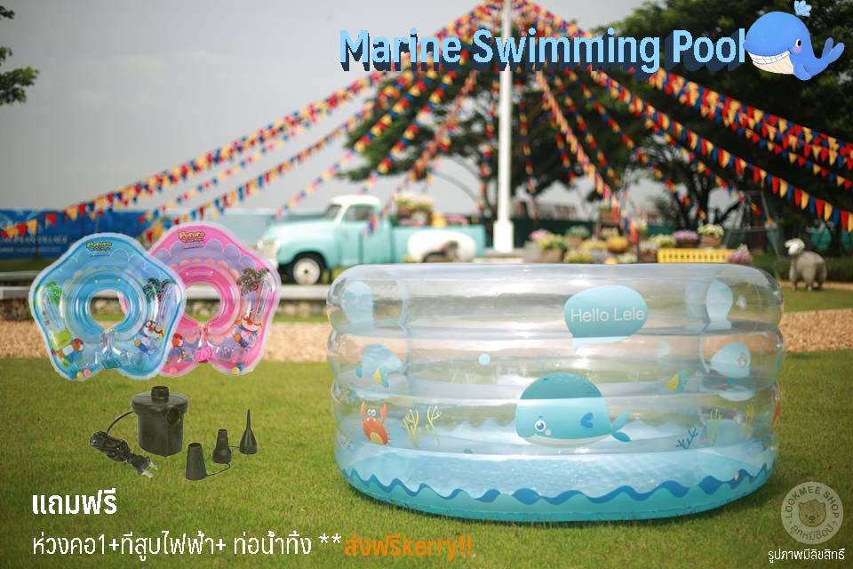 สระใส Marine Swimming Pool เซตสุดคุ้ม ส่งฟรี !! Kerry
