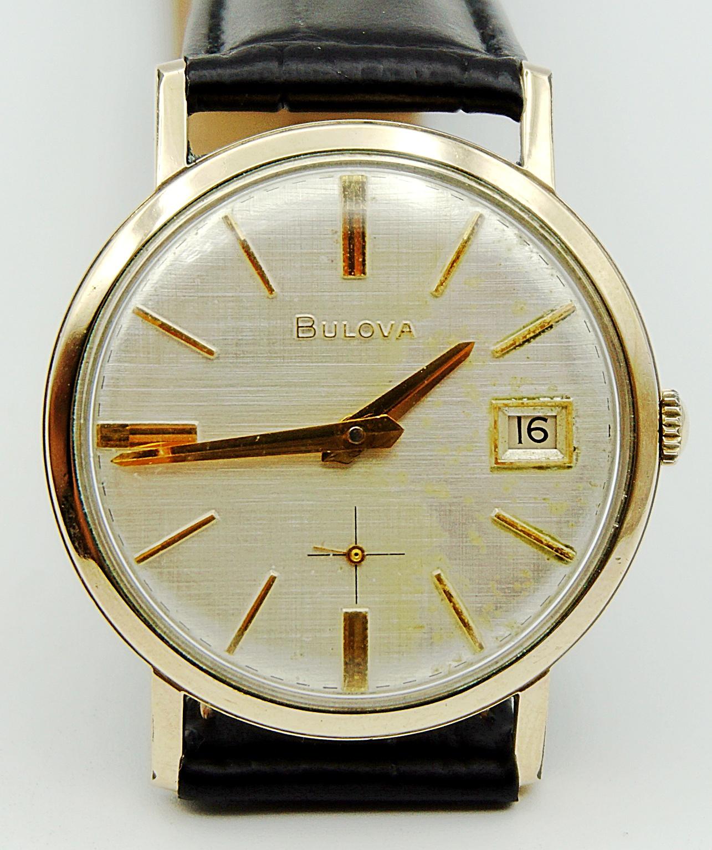นาฬิกาเก่า BULOVA ไขลานสองเข็มครึ่ง