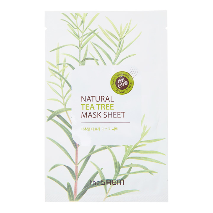 The Saem Natural Tea Tree Mask Sheet
