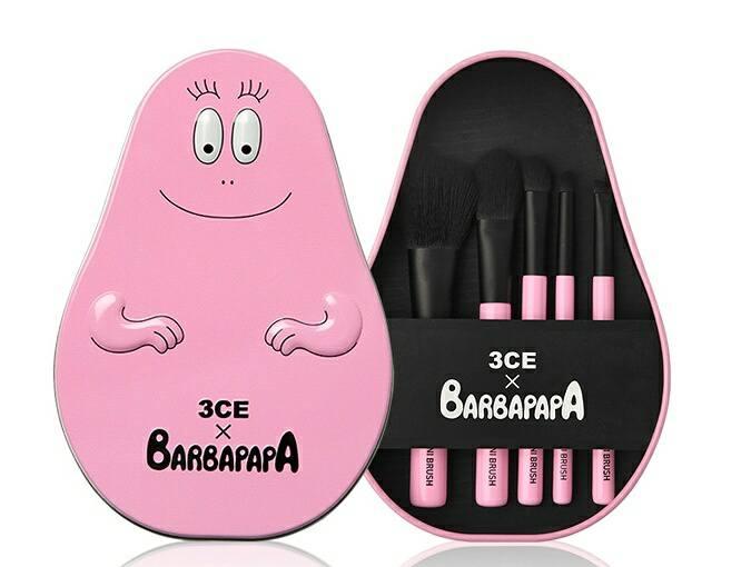3CE x Barbapapa Brush Kit เซทแปรงแต่งหน้า (มิลเลอร์)
