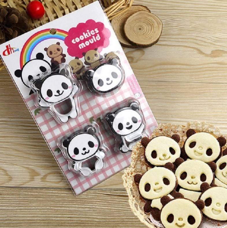 พิมพ์กดคุกกี้ Panda 3 มิติ