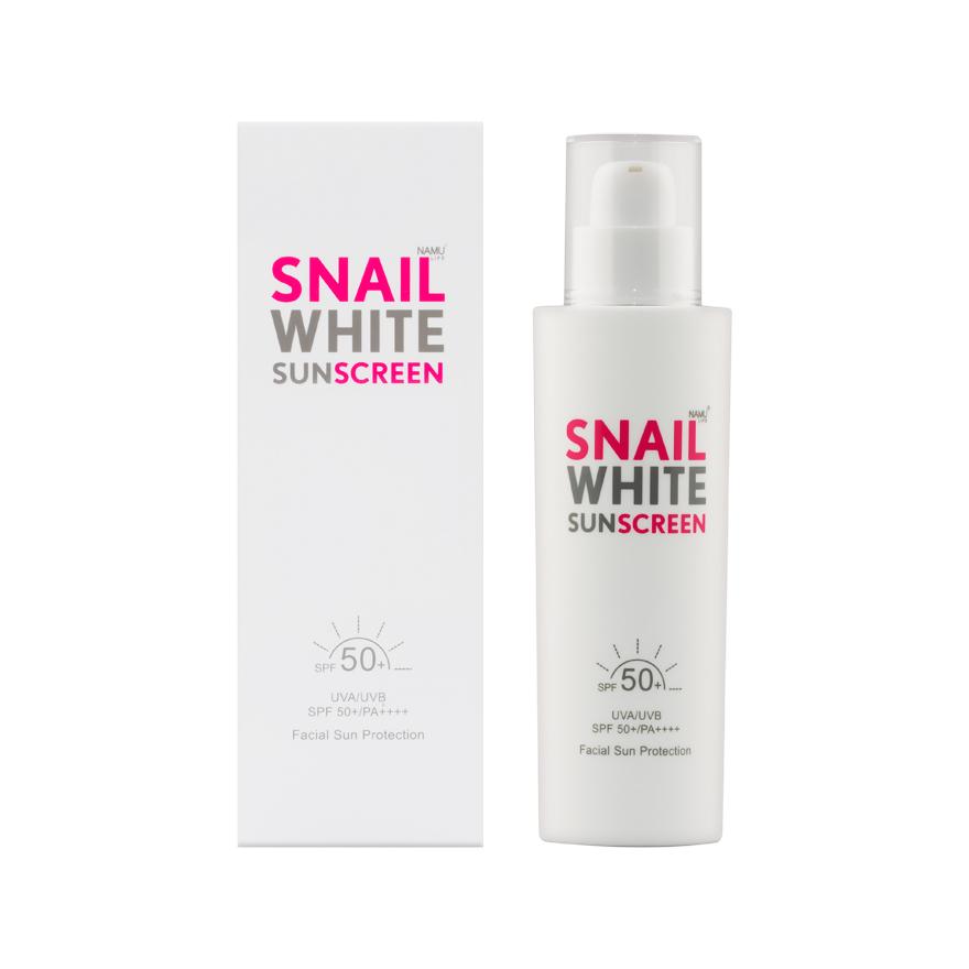 ครีมกันแดดสเนลไวท์ Snail White Sunscreen
