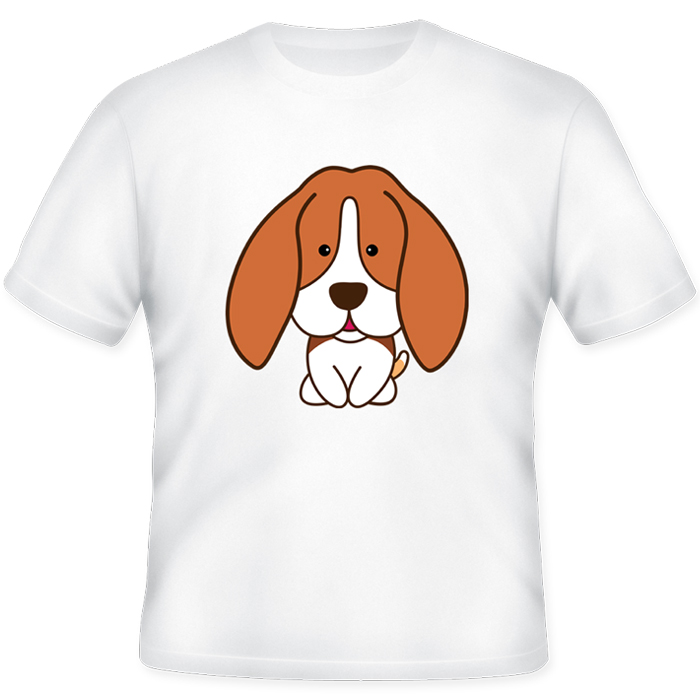 เสื้อยืดพิมพ์ลาย บีเกิล (My Beagle T-Shirt)