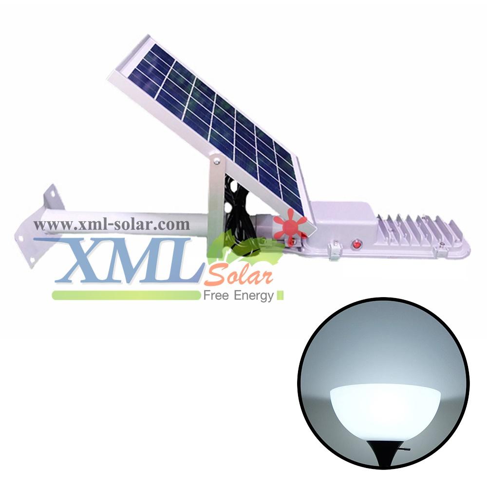 โคมไฟถนนโซล่าเซลล์ 10 Watt Polycrystalline