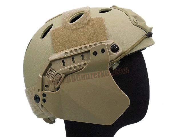 Side Cover สำหรับหมวก Fast สีทราย - FMA