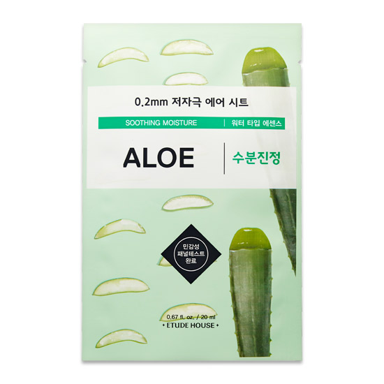 Etude House Soothing Moisture Aloe Mask Sheet 20 ml.