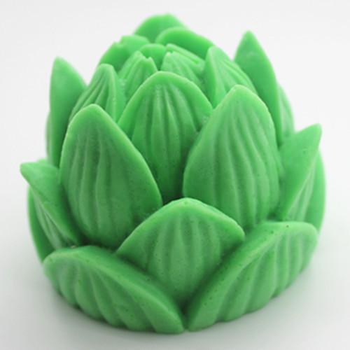 ซิลิโคนสำหรับทำฟองดองท์ กัมเพส รูปดอกบัว