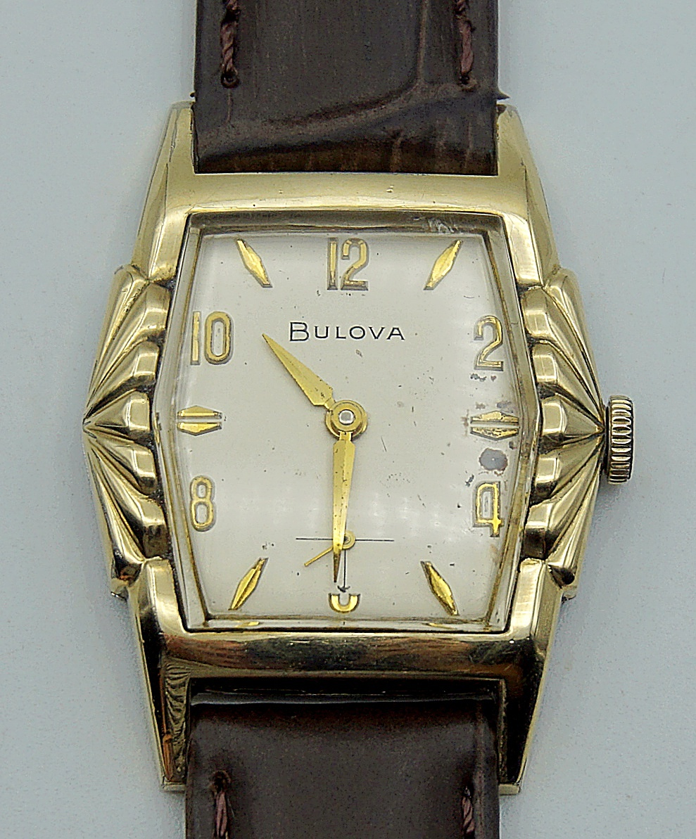 นาฬิกาเก่า BULOVA ไขลาน สองเข็มครึ่ง