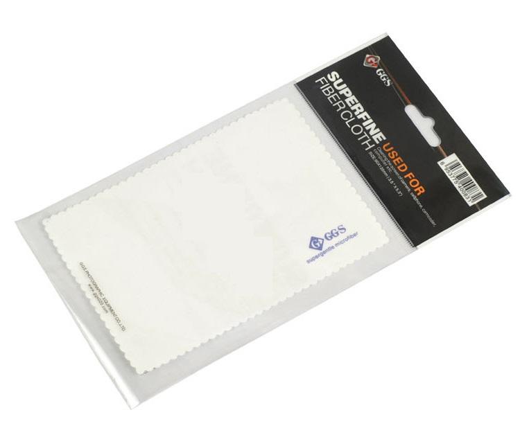 ผ้าเช็ดเลนส์เนื้อละเอียด Super gentle microfiber GGS