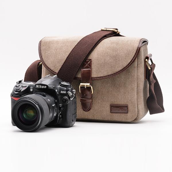 กระเป๋ากล้องmirrorless/DSLR Travel Life สีน้ำตาล
