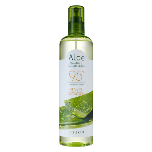 It's Skin Aloe Soothing Face & Body Mist 95% 400 ml.