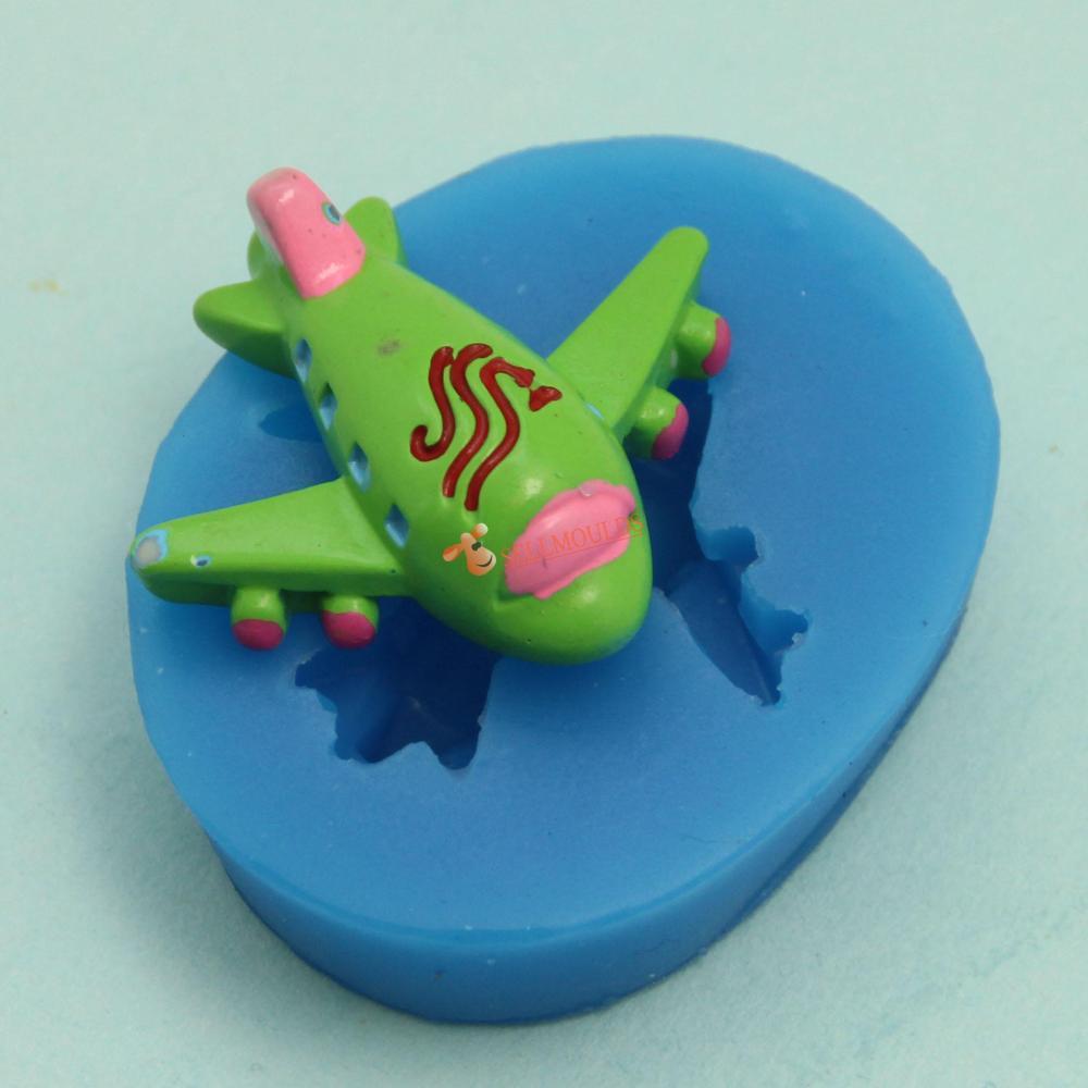 โมล พิมพ์ซิลิโคน รูปเครื่องบิน (พิมพ์ 2 มิติ)
