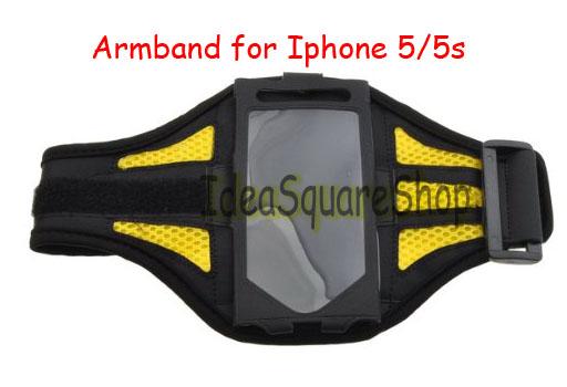 JB01 Armband Iphone 5/5s แบบ ผ้าตาข่าย