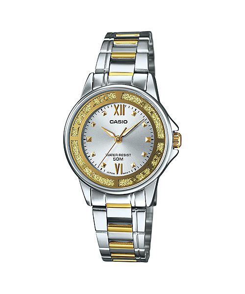 นาฬิกาข้อมือผู้หญิงCasioของแท้ LTP-1391SG-7AVDF CASIO นาฬิกา ราคาถูก ไม่เกิน สามพัน