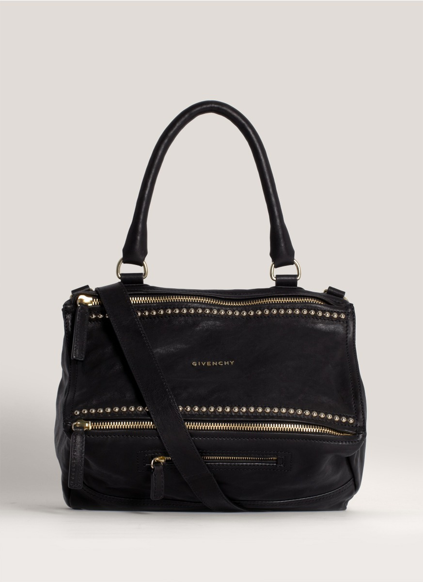 กระเป๋า Givenchy Pandora Medium Studded Black