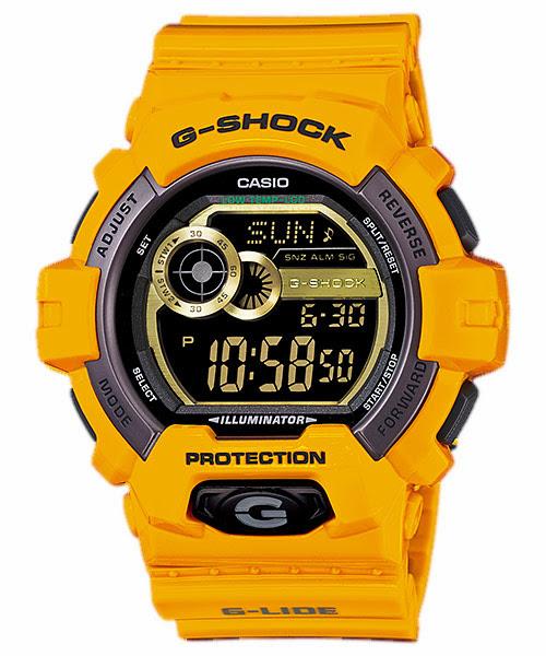 GShock G-Shockของแท้ ประกันศูนย์ G-lide รุ่น GLS-8900-9