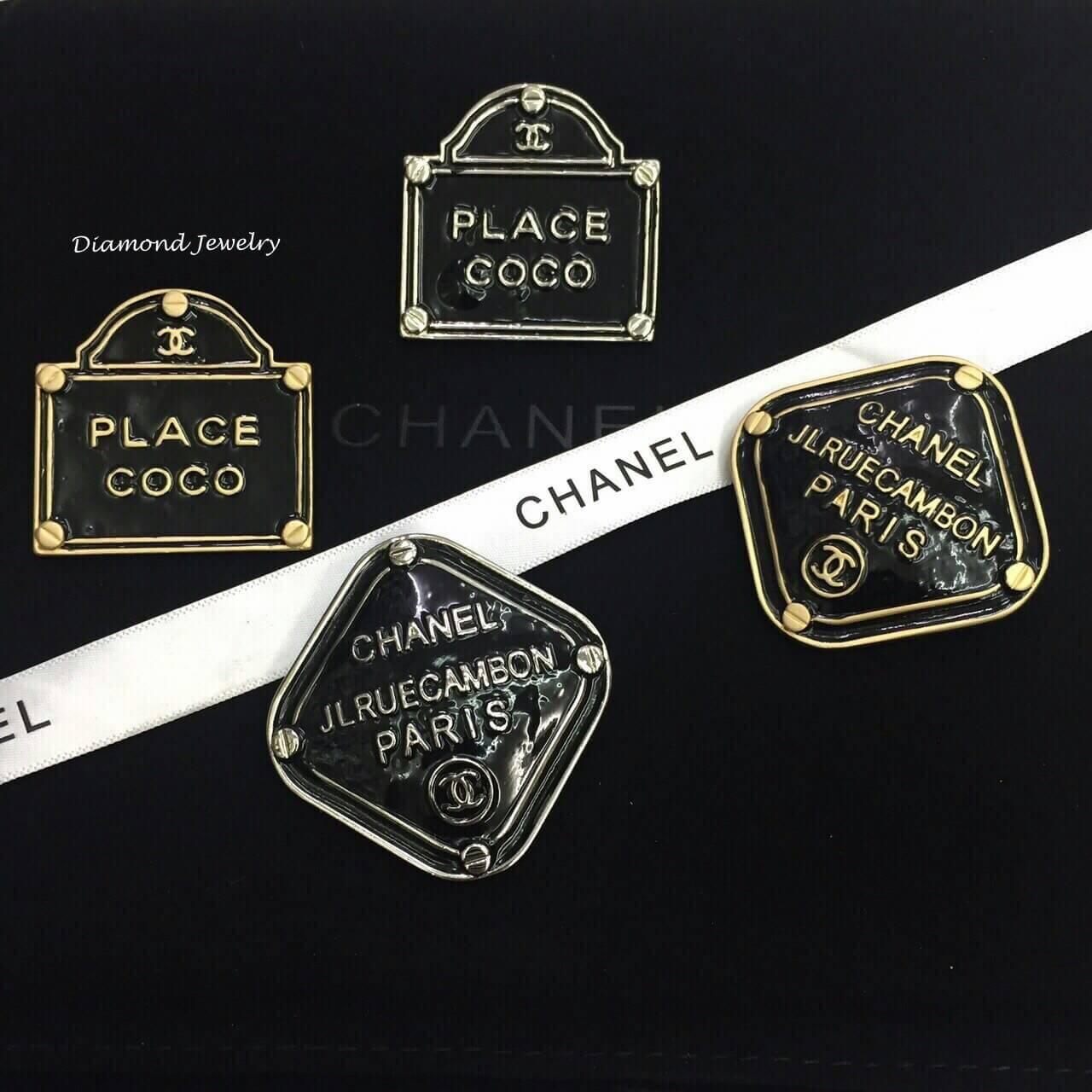 พร้อมส่ง Chanel Brooch เข็มกลัดชาแนลงานสวยค