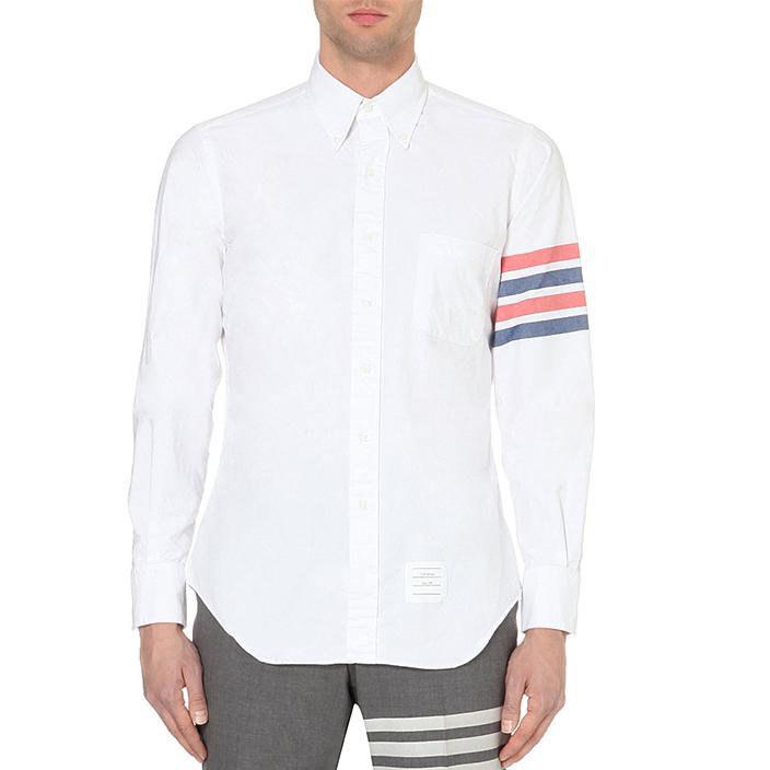 เสื้อเชิ้ตThom Browne Stripe Oxford Shirt