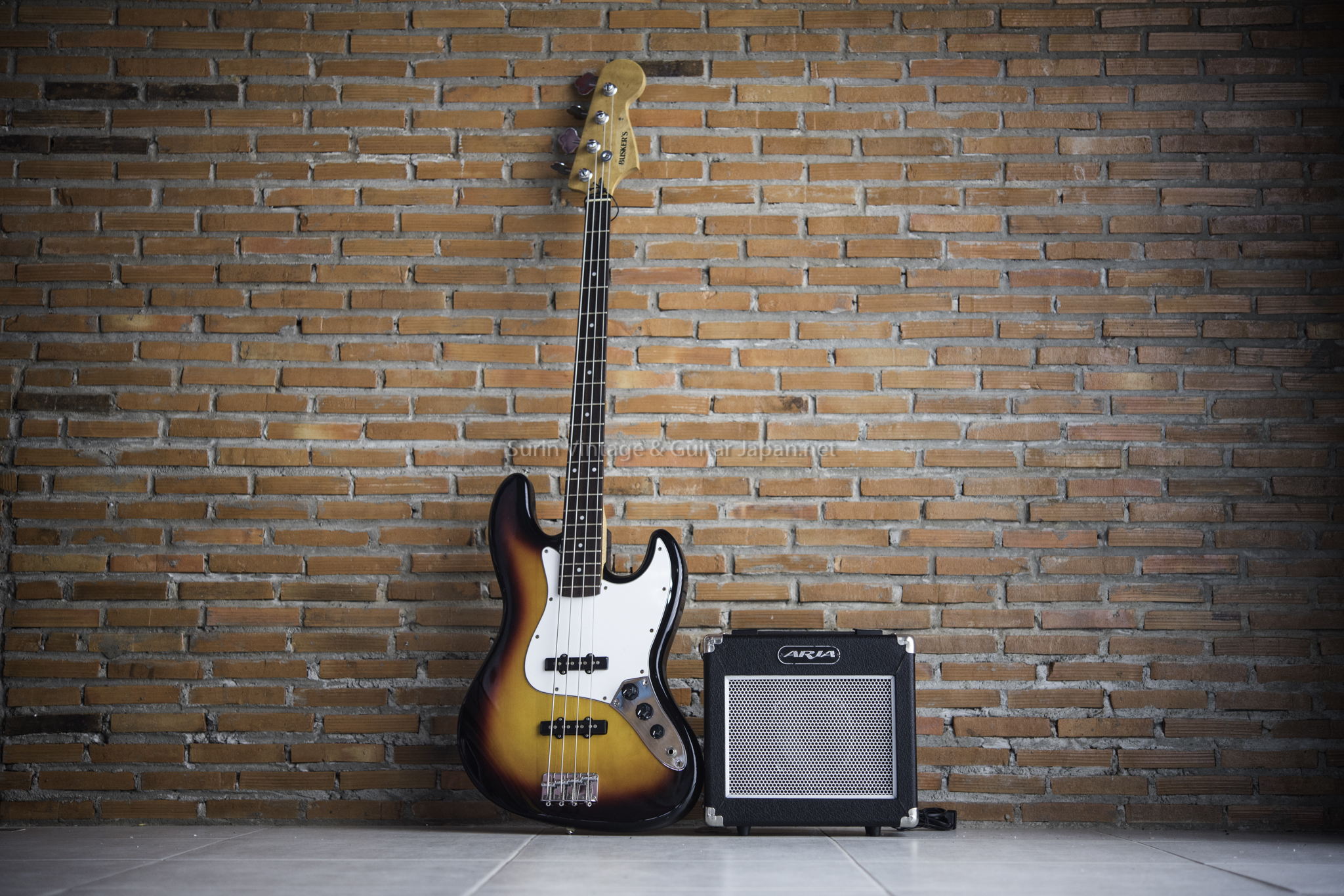 แอมป์เบสไฟฟ้ามือสอง ARIA AB-10 No.4 Bass Amp