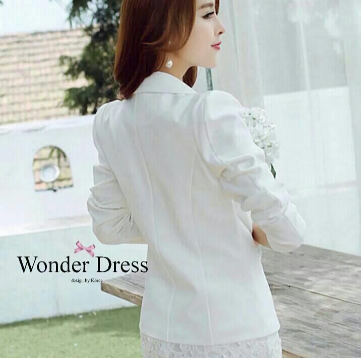 เสื้อสูทรทรงสวยสไตล์แบรนด์เกาหลี